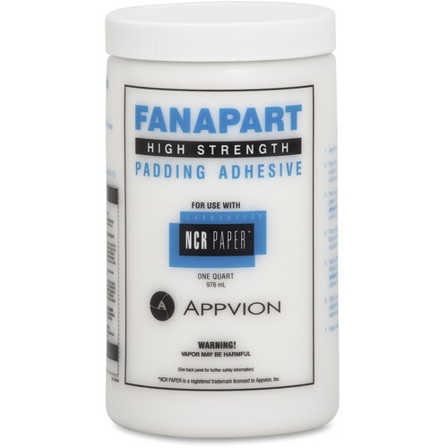 NCR Paper Fanapart Padding Adhesive | by Plexsupply