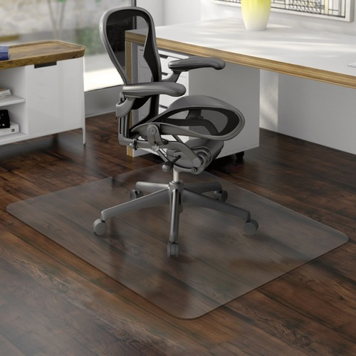 deflecto non studded hard floor chairmats defcm21442f