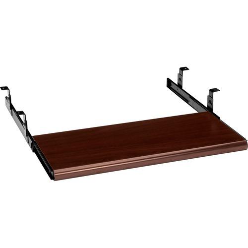 HON Slide-Away Laminate Keyboard Platform
