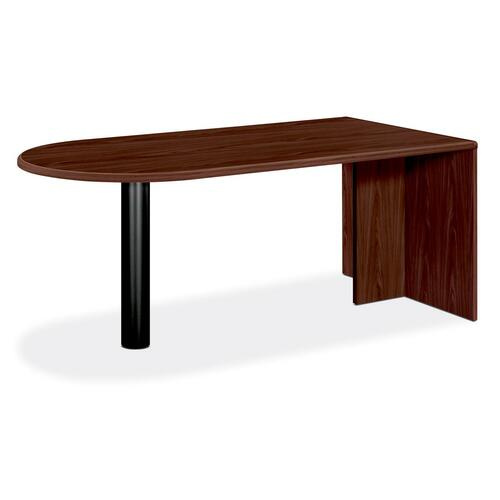 "HON 10700 Series ""U"" Grouping Peninsula Table with End Panel"