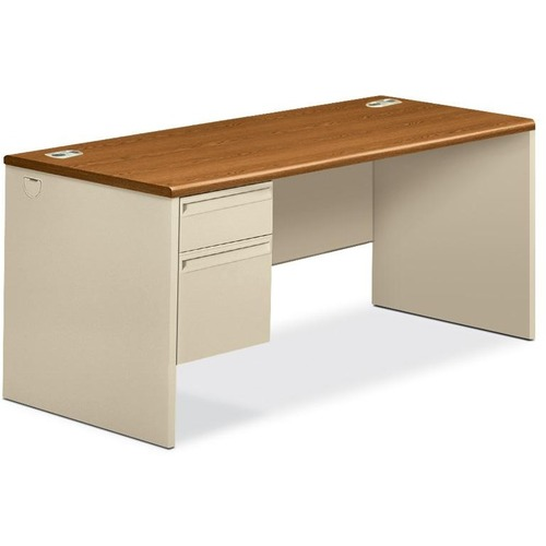 HON 38000 Series Left Pedestal Desk