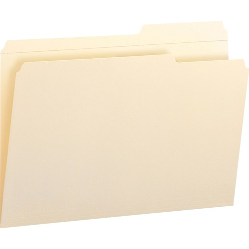 Smead 15386 Manila File Folders with Reinforced Tab