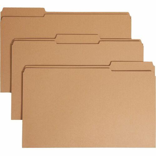 Smead Kraft Top Tab Fastener Folders   by Plexsupply