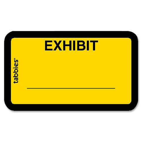 Tabbies Color-coded Legal Exhibit Labels | by Plexsupply