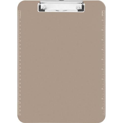 Sparco 01870 Plastic Clipboard,w/Flat Clip,9x12,Smoke 9x12 Accessories Marker Boards