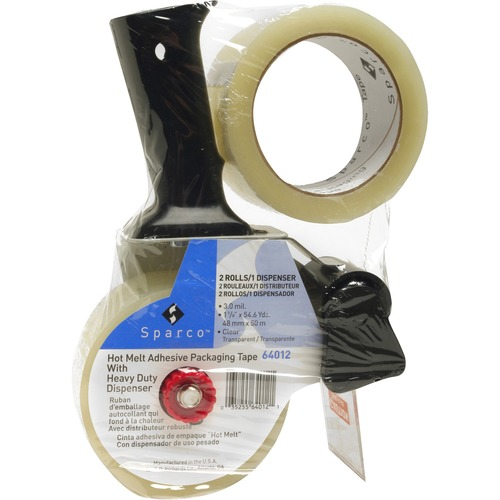 Sparco Pistol Grip Dispenser Hvy-duty Pckging Tape | by Plexsupply