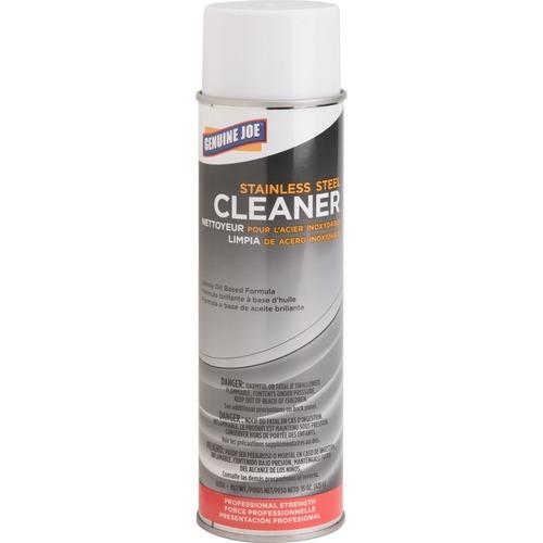 Stainless steel cleaner/polish, aerosol can, 15 oz., sold as 1 each, 4 each per each