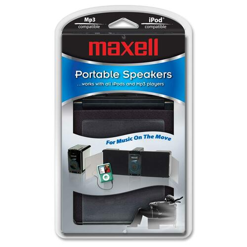 Maxell P-18 Portable Multimedia Speakers