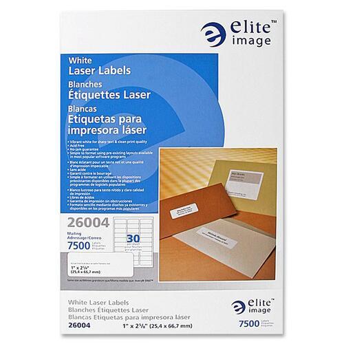 Elite Image White Full Sheet Laser Labels   by Plexsupply