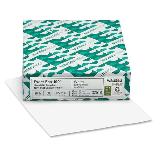 Wausau Paper Corp. Exact Eco 100 Paper