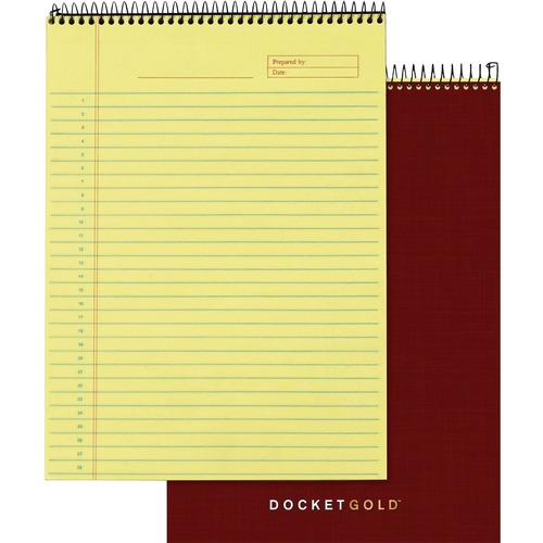Tops Docket Gold Project Planning Pad | by Plexsupply