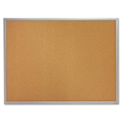 Acco S734 Aluminum Frame Cork Bulletin Board