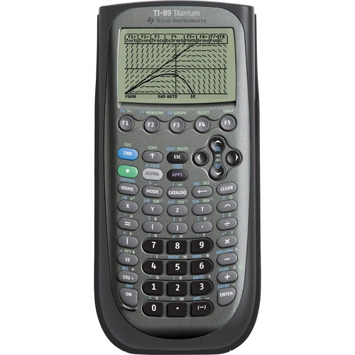 Texas Inst. TI-89 Titanium Graphing Calculator | by Plexsupply