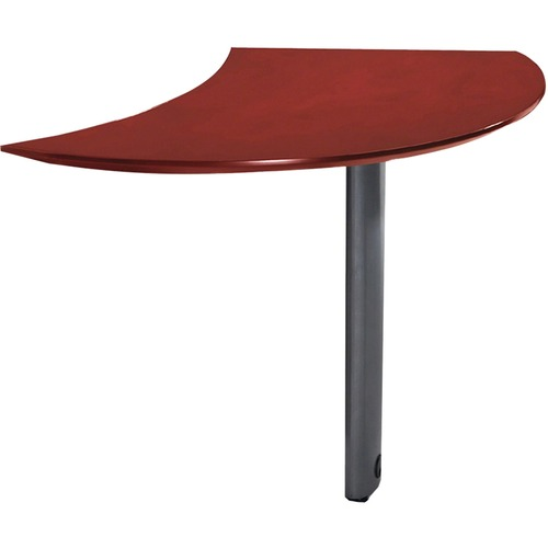 Mayline Group Napoli Curved Left Extension for Desk