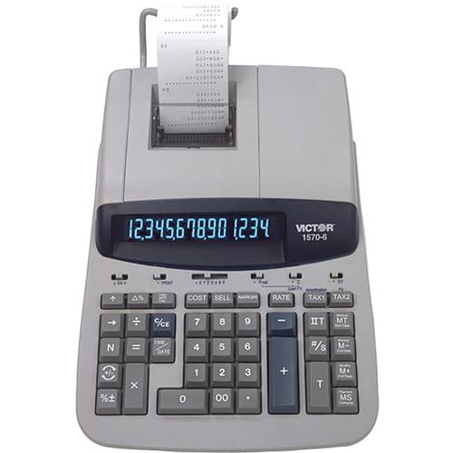Victor 15706 Heavy-Duty Printing Calculator | by Plexsupply