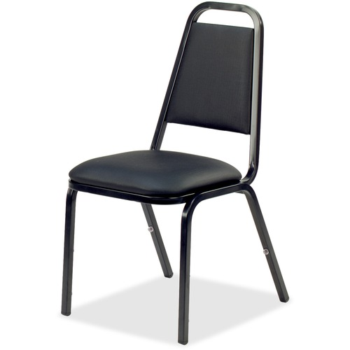 Lorell Upholstered Stacking Chairs   by Plexsupply