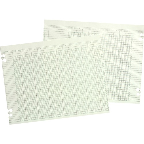 Acco Regular Ledger Sheets