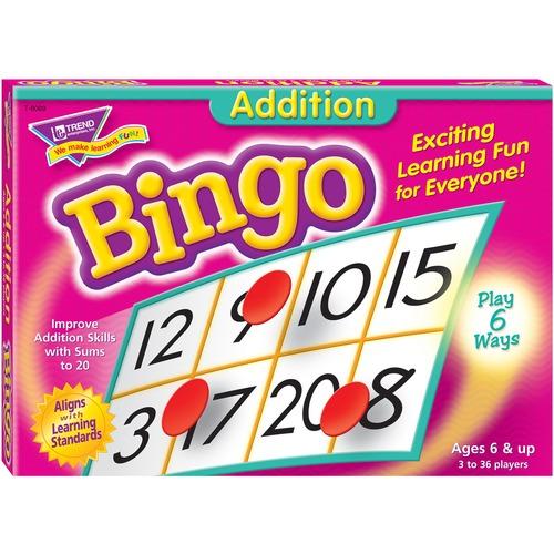 Trend Addition Bingo Game | by Plexsupply