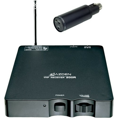 Azden 200XT Wireless Microphone System