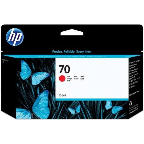 HP No. 70 Red Ink Cartridge