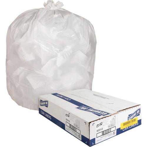 Genuine Joe Hvy-Duty Tall Kitchen Trash Bags | by Plexsupply
