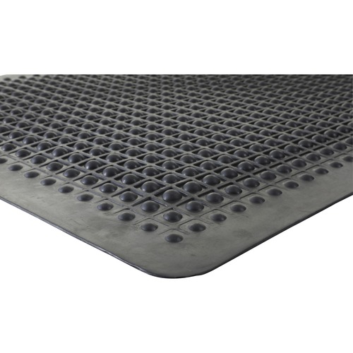Genuine Joe Flex Step Rubber Anti-Fatigue Mats | by Plexsupply