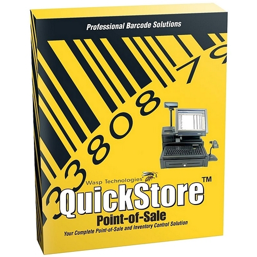 Wasp QuickStore POS Standard Edition - Point of Sale Software (1 user)