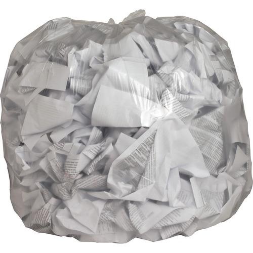 Genuine Joe Clear Trash Can Liners | by Plexsupply
