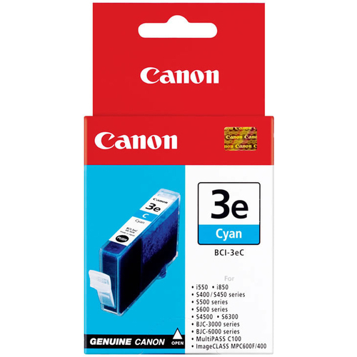 Canon BCI-3eC Ink Cartridge - Cyan