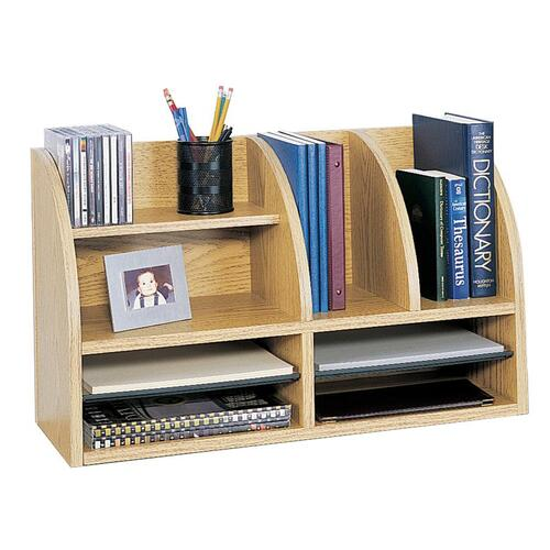 Safco 8-Compartment Desktop Organizer