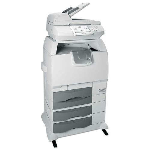Lexmark X782E Laser Multifunction Printer - Color - Plain Paper Print - Desktop