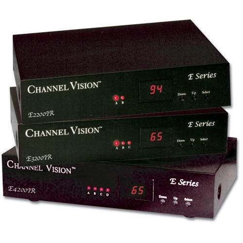 Channel Vision E2200IR 2 Input RF Modulator
