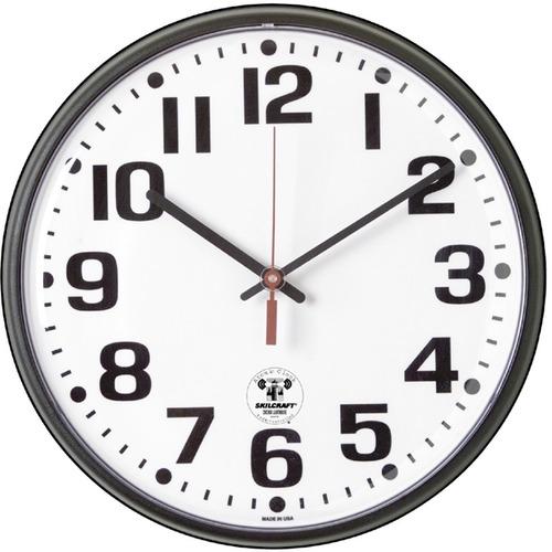SKILCRAFT Atomic Slimline Clock