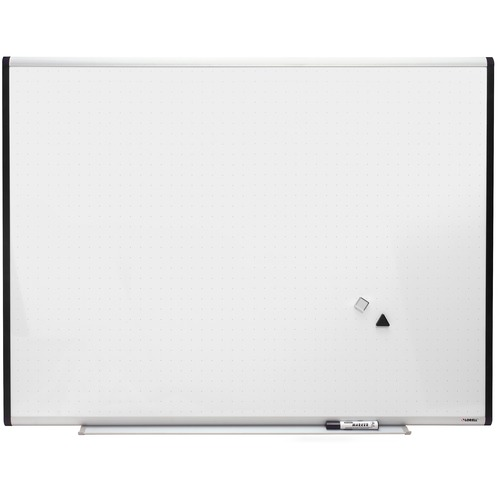 Lorell Magnetic Dry-erase Grid Lines Marker Board | by Plexsupply