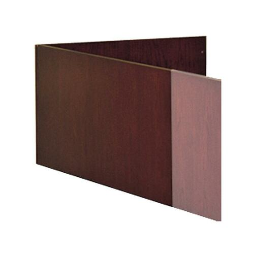 Mayline Corsica Veneer Series L-Shaped Reception Screen