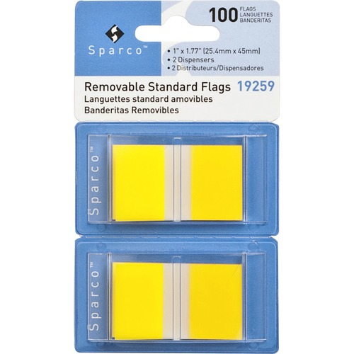Sparco Removable Standard Flags Dispenser | by Plexsupply
