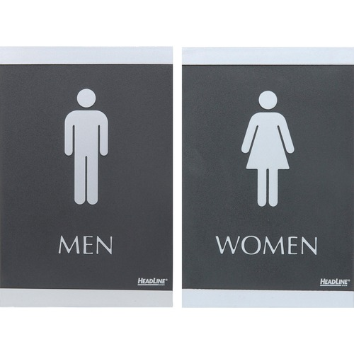 U.S. Stamp & Sign Century Series Men & Women Signs | by Plexsupply