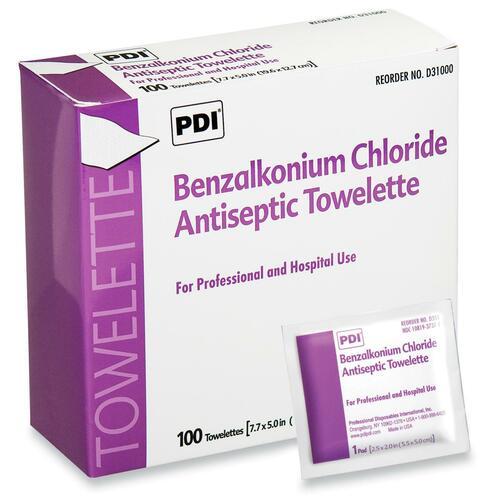 Unimed-Midwest Benzalkonium Chloride Antiseptic Towelette