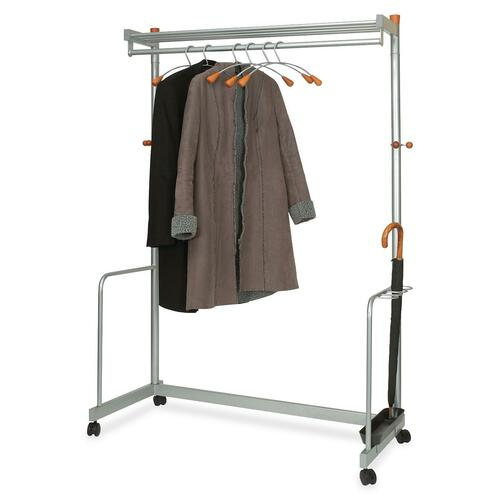 Alba Two-Shelf Coat Rack