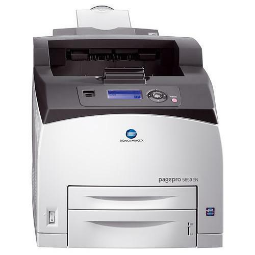 Konica Minolta Pagepro 5650EN 1200 x 1200 dpi 45.6 ppm Monochrome Laser Printer