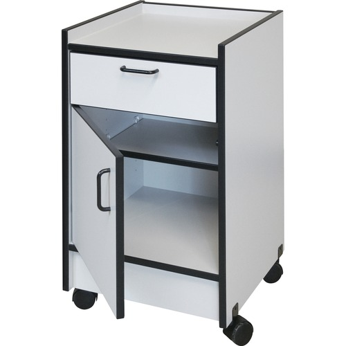 Hausmann Industries Drawer and Cabinet Mobile Cart