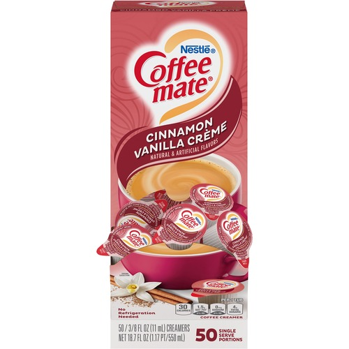 Nestlé® Coffee-mate® Coffee Creamer Cinnamon Vanilla Créme