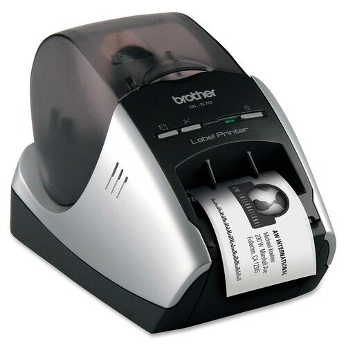 Brother QL-570 Thermal Label Printer USB/Auto Cutter/Mirror printing/Vertical printing/Rotate printing