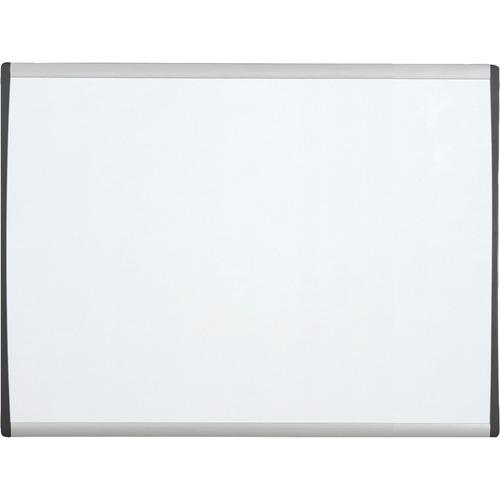 Quartet Magnetic Dry-Erase Boards With Adjustable Clips