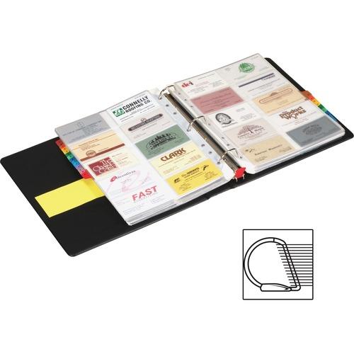 Cardinal EasyOpen Card File Binder   by Plexsupply