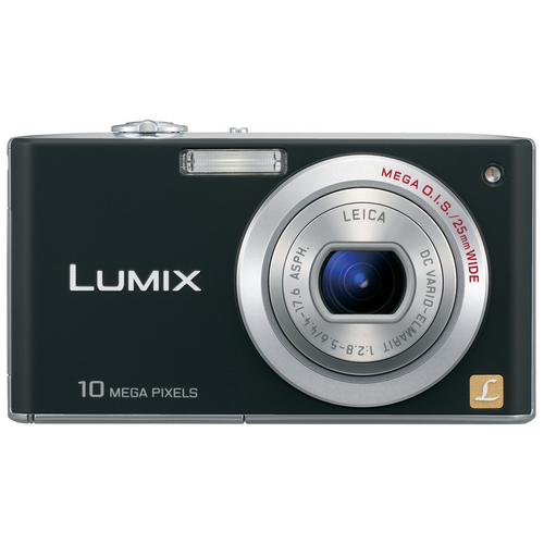Panasonic Lumix DMC-FX35 Digital Camera (black)