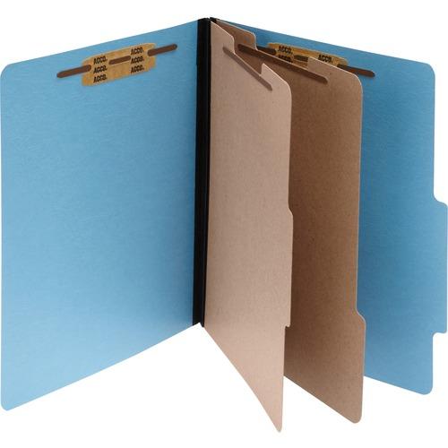 Acco ColorLife Classification Folder