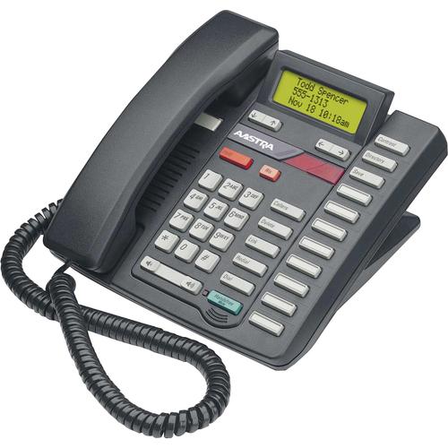 Mitel Networks Classic 9316CW Standard Phone - Black