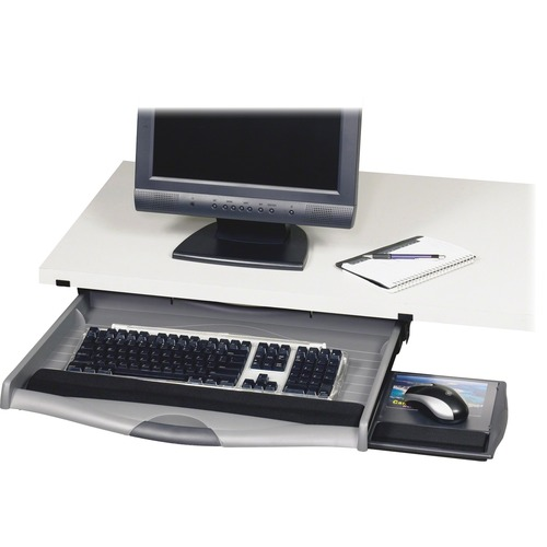 Safco Ergo-Comfort Premium Underdesk Keyboard Drawer
