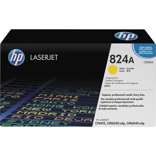 HP 824A (CB386A) Yellow Original LaserJet Image Drum